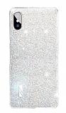 Eiroo Gleam iPhone X / XS Silver Silikon Kılıf