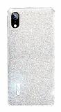 Eiroo Gleam iPhone XR Silver Silikon Kılıf