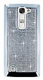 Eiroo Glows LG G4c Ta�l� Silver Rubber K�l�f