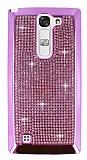 Eiroo Glows LG G4c Ta�l� Pembe Rubber K�l�f