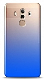Eiroo Gradient Huawei Mate 10 Pro Geçişli Mavi Rubber Kılıf