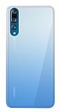 Eiroo Gradient Huawei P20 Pro Geçişli Mavi Silikon Kılıf