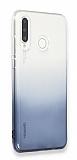 Eiroo Gradient Huawei P30 Lite Geçişli Siyah Silikon Kılıf
