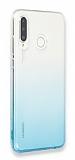 Eiroo Gradient Huawei P30 Lite Geçişli Turkuaz Silikon Kılıf