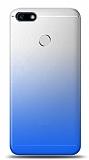 Eiroo Gradient Huawei P9 Lite Mini Geçişli Mavi Rubber Kılıf