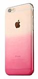 Eiroo Gradient iPhone 6 / 6S Geçişli Pembe Rubber Kılıf