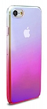 Eiroo Gradient iPhone 7 Geçişli Pembe Rubber Kılıf
