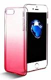 Eiroo Gradient iPhone 7 Plus Geçişli Pembe Rubber Kılıf