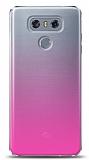 Eiroo Gradient LG G6 Geçişli Pembe Rubber Kılıf
