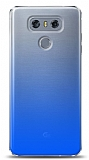 Eiroo Gradient LG G6 Geçişli Mavi Rubber Kılıf