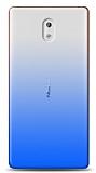 Eiroo Gradient Nokia 3 Geçişli Mavi Rubber Kılıf