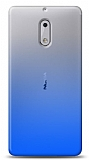 Eiroo Gradient Nokia 5 Geçişli Mavi Rubber Kılıf