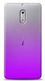 Eiroo Gradient Nokia 5 Geçişli Mor Rubber Kılıf