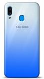 Eiroo Gradient Samsung Galaxy A20 / A30 Geçişli Mavi Rubber Kılıf
