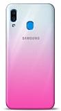 Eiroo Gradient Samsung Galaxy A20 / A30 Geçişli Pembe Rubber Kılıf