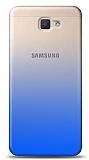 Eiroo Gradient Samsung Galaxy A3 2017 Geçişli Mavi Rubber Kılıf