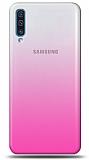 Eiroo Gradient Samsung Galaxy A70 Geçişli Mor Rubber Kılıf