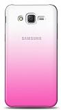 Eiroo Gradient Samsung Galaxy Grand Prime / Plus Geçişli Pembe Rubber Kılıf