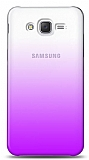 Eiroo Gradient Samsung Galaxy Grand Prime / Plus Geçişli Mor Rubber Kılıf