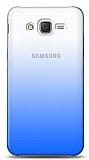 Eiroo Gradient Samsung Galaxy Grand Prime / Plus Geçişli Mavi Rubber Kılıf
