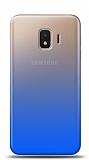 Eiroo Gradient Samsung Galaxy J2 Core Geçişli Mavi Rubber Kılıf