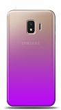 Eiroo Gradient Samsung Galaxy J2 Core Geçişli Mor Rubber Kılıf