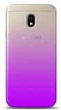 Eiroo Gradient Samsung Galaxy J3 Pro 2017 Geçişli Mor Rubber Kılıf