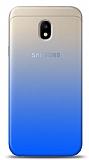 Eiroo Gradient Samsung Galaxy J3 Pro 2017 Geçişli Mavi Rubber Kılıf