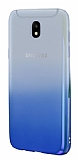 Eiroo Gradient Samsung Galaxy J5 Pro 2017 Geçişli Mavi Rubber Kılıf