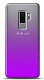 Eiroo Gradient Samsung Galaxy J8 Geçişli Mor Rubber Kılıf