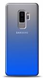 Eiroo Gradient Samsung Galaxy J8 Geçişli Mavi Rubber Kılıf