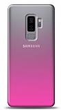 Eiroo Gradient Samsung Galaxy J8 Geçişli Pembe Rubber Kılıf