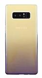 Eiroo Gradient Samsung Galaxy Note 8 Geçişli Mor Rubber Kılıf