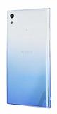 Eiroo Gradient Sony Xperia L1 Geçişli Mavi Rubber Kılıf