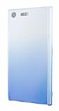 Eiroo Gradient Sony Xperia XZ Premium Geçişli Mavi Rubber Kılıf