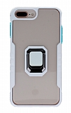 Eiroo Guard iPhone 7 Plus / 8 Plus Ultra Koruma Beyaz Kılıf