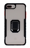 Eiroo Guard iPhone 7 Plus / 8 Plus Ultra Koruma Siyah Kılıf