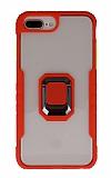 Eiroo Guard iPhone 7 Plus / 8 Plus Ultra Koruma Kırmızı Kılıf