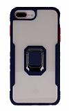 Eiroo Guard iPhone 7 Plus / 8 Plus Ultra Koruma Lacivert Kılıf