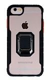 Eiroo Guard iPhone SE 2020 Ultra Koruma Siyah Kılıf