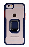 Eiroo Guard iPhone SE 2020 Ultra Koruma Lacivert Kılıf