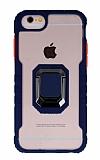 Eiroo Guard iPhone 7 / 8 Ultra Koruma Lacivert Kılıf