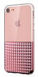 Eiroo Half Glare iPhone 7 Rose Gold Silikon Kılıf