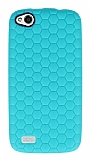 Eiroo Honeycomb General Mobile Discovery Su Ye�ili Silikon K�l�f