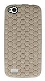 Eiroo Honeycomb General Mobile Discovery Krem Silikon K�l�f