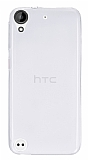 Eiroo HTC Desire 530 Ultra İnce Şeffaf Silikon Kılıf