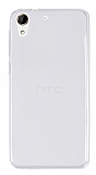 Eiroo HTC Desire 728G Ultra İnce Şeffaf Silikon Kılıf