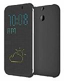 HTC Desire Eye Dot View Orjinal Uyku Modlu Gri Kılıf