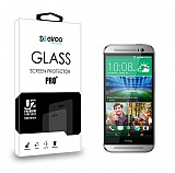 Eiroo HTC One M8 Tempered Glass Cam Ekran Koruyucu