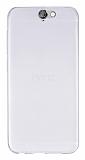 HTC One A9 Ultra İnce Şeffaf Silikon Kılıf